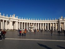 Colonnade at St Peters Basilica