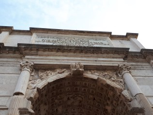 Detail on Arch of Titus