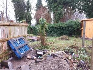 Garden in progress 2