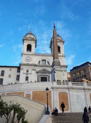 Trinità dei Monti Spanish Steps