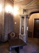 5th floor lounge at Antica Dimora del Cinque Lune Rome