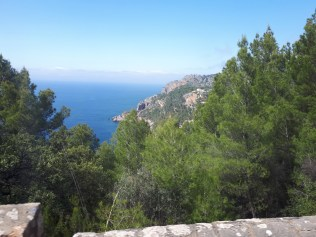 View on bus journey from Port de Soller to Palma
