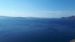 Caldera view from Oia Santorini