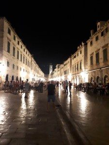 Stradun at night time