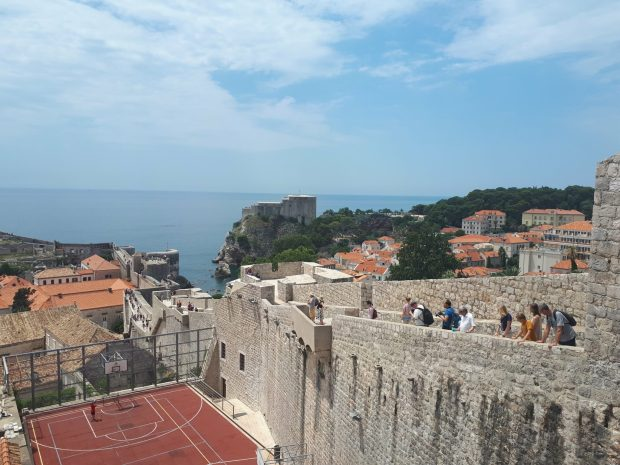 View from Dubrovnik City Walls