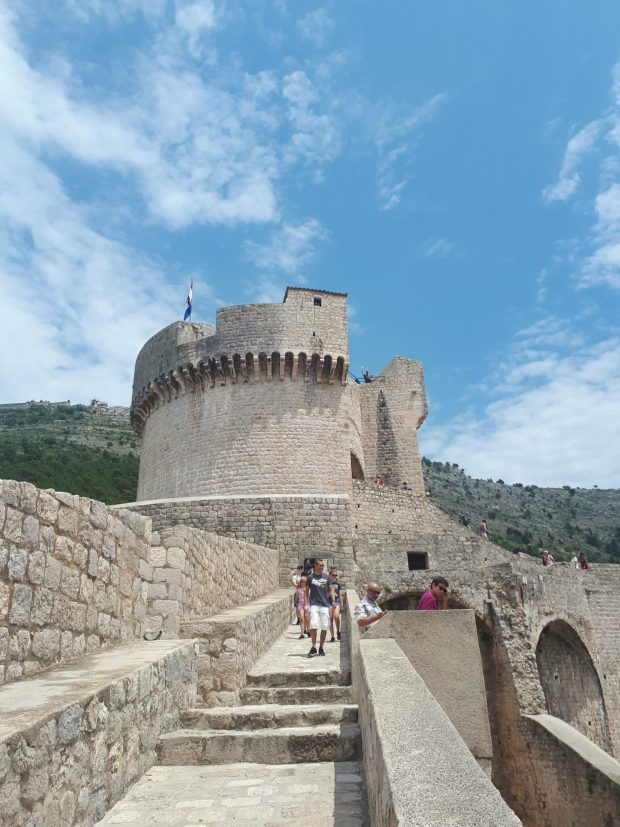 View of Minceta Tower, Dubrovnik City Walls