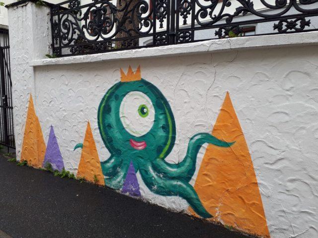 Street art in Bergen