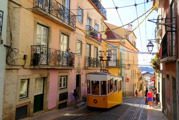 Travel hitlist Lisbon