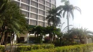 Outside Holiday Inn Penang