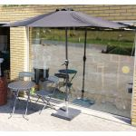 Parasol Altan M Krank 265x 135 Cm Thisted Fro