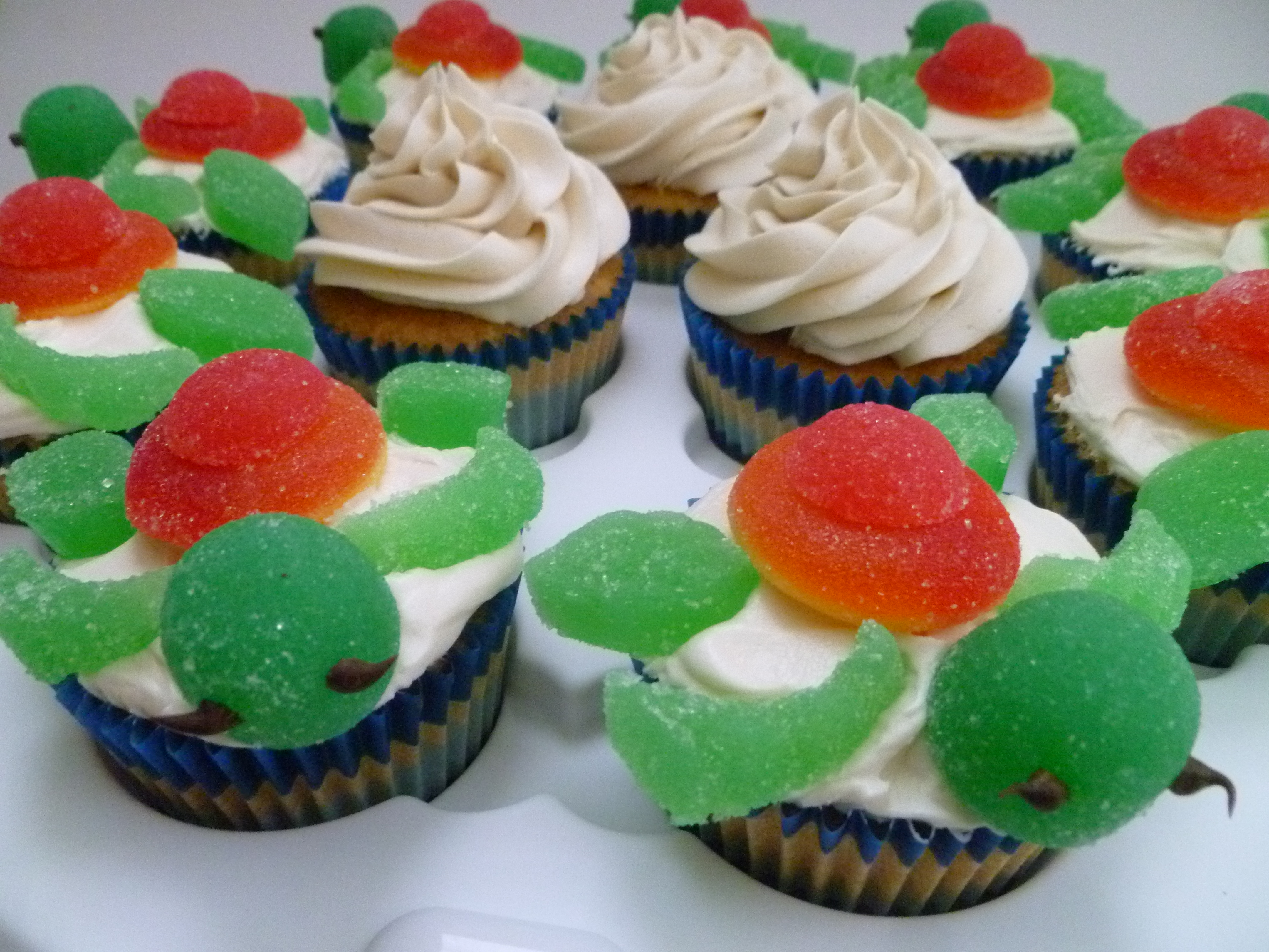 Squirt Sea Turtle Cupcakes With Instructions This