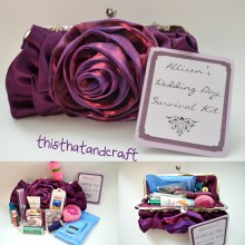 Wedding Day Survival Kit - thisthatandcraft