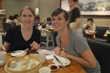 Shrimp dumplings!