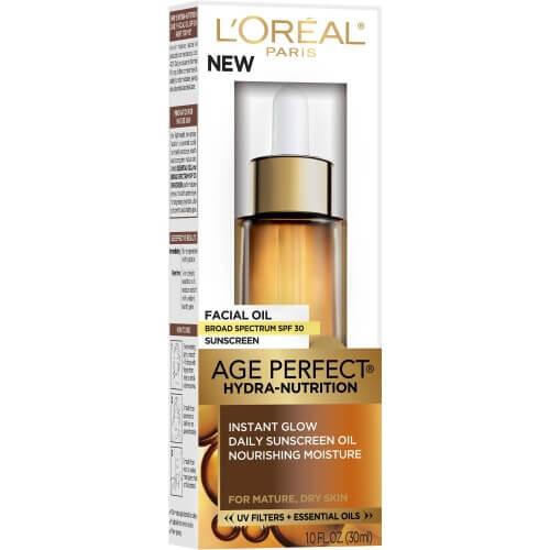 L'Oréal Paris Age Perfect Hydra-Nutrition Facial Oil with SPF 30