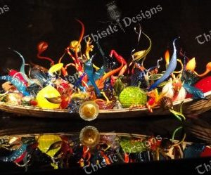 Photo Card - Chihuly Glass Scupltures