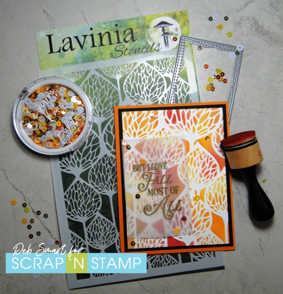 New Lavinia Stencils