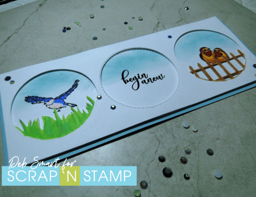 Scrap 'N Stamp Slim-sational Blog Hop