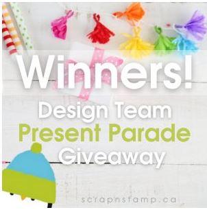 Design Team Present Parade Winners!