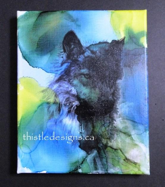 More Mixed Media Paintings