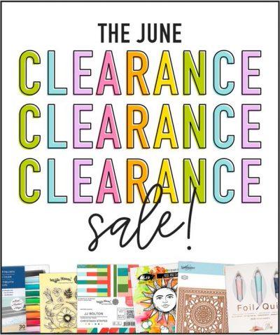 June Clearance Sale