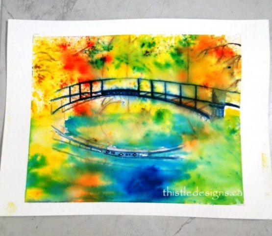 Very Loose Watercolour Painting