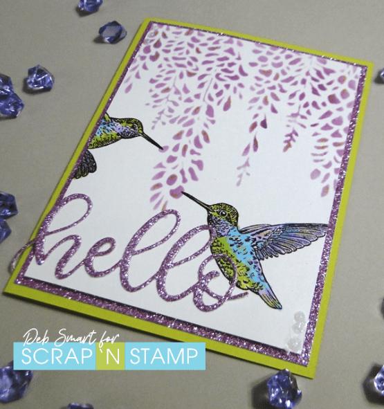 For the Birds Scrap 'N Stamp Blog Hop