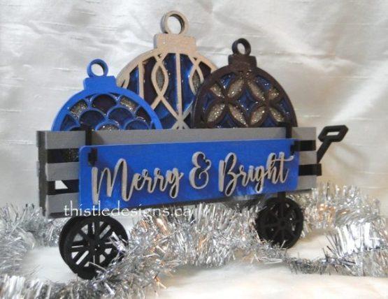 Holiday Ornaments Wagon