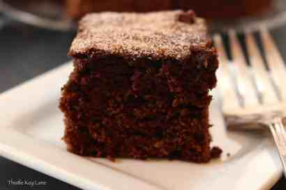 Spicy Cinnamon Brownies