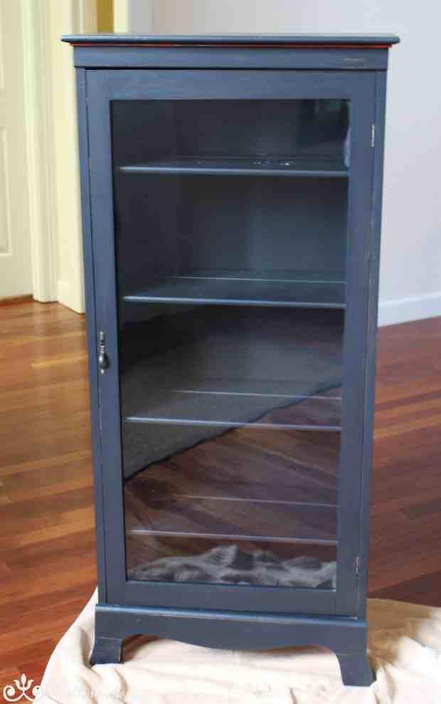 Curio Cabinet Before