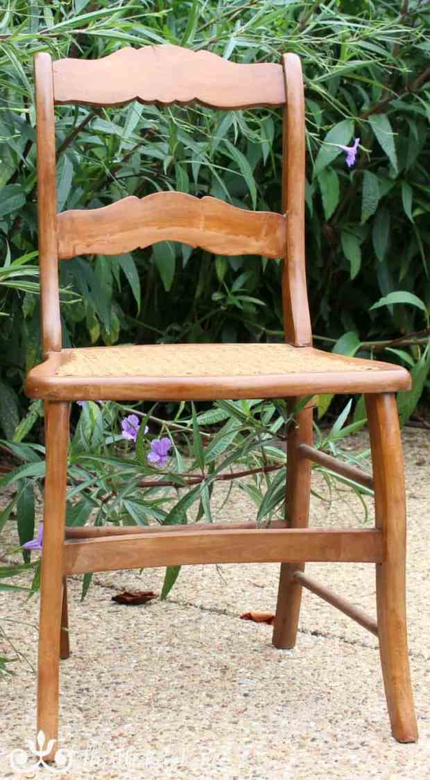 Cane Chair Rescue | Thistle Key Lane