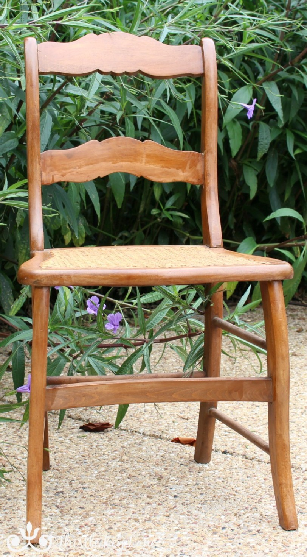 Cane Chair Rescue | Thistle Key Lane
