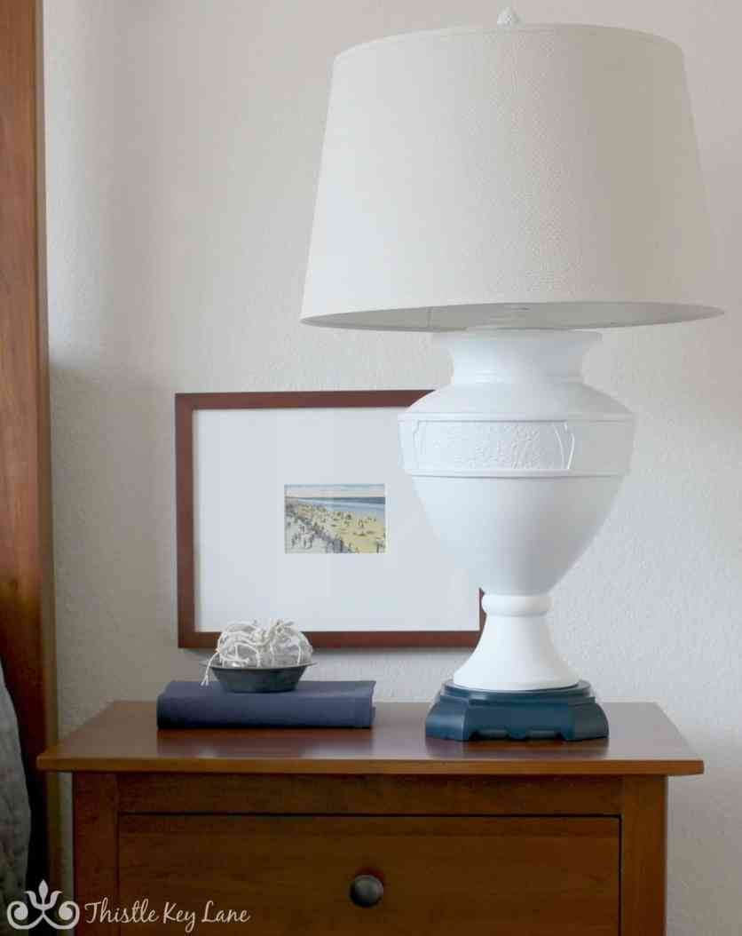 Update a lamp with paint