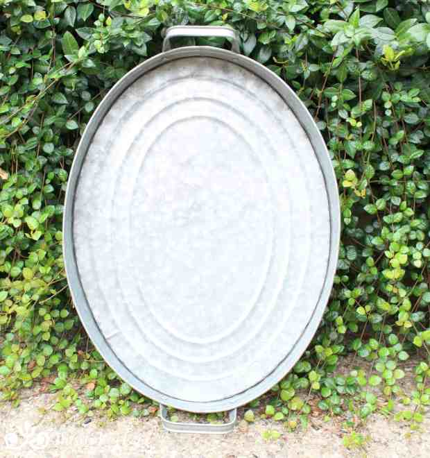 Painted Striped Tray | Thistle Key Lane