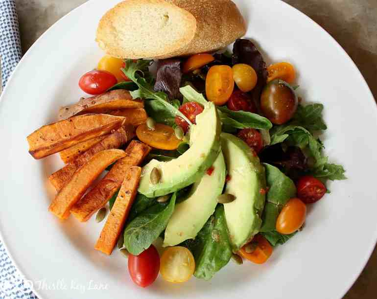 Salad Inspiration With Vegetables