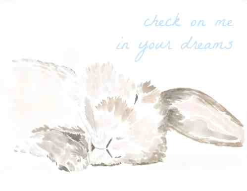 Check On Me In Your Dreams