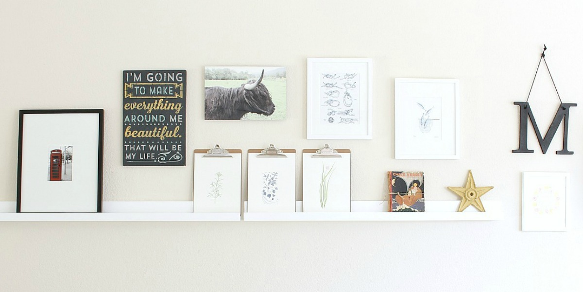 A Gallery Wall With Room To Grow And A Review