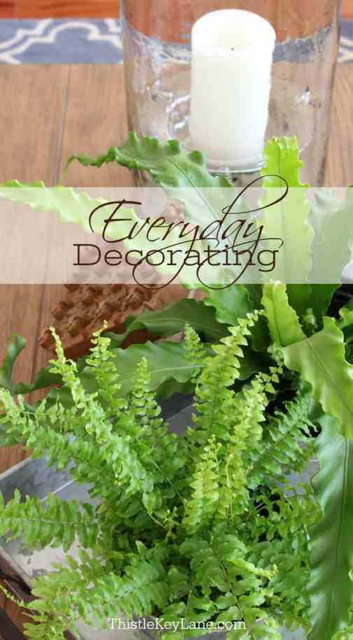 See how bright and easy everyday decorating can be.