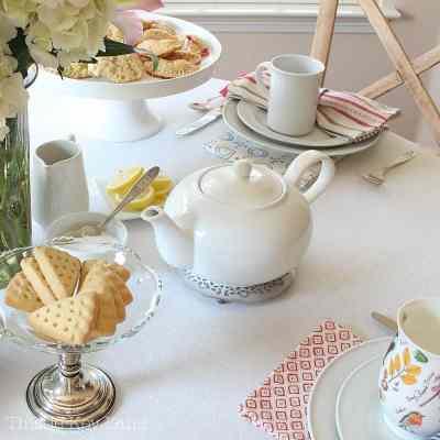 Afternoon Tea Set Up