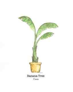Banana tree watercolor by Thistle Key Lane.