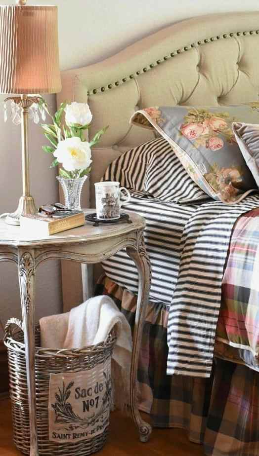 Cottage bedroom by Follow The Yellow Brick Home.