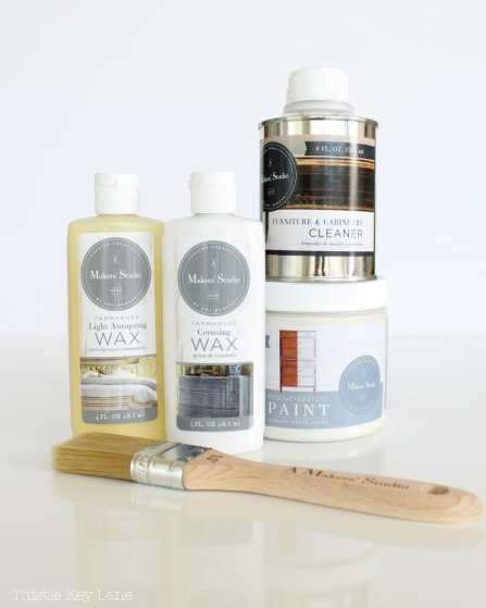 A Makers' Studio products used in DIY Kitchen Table Makeover.