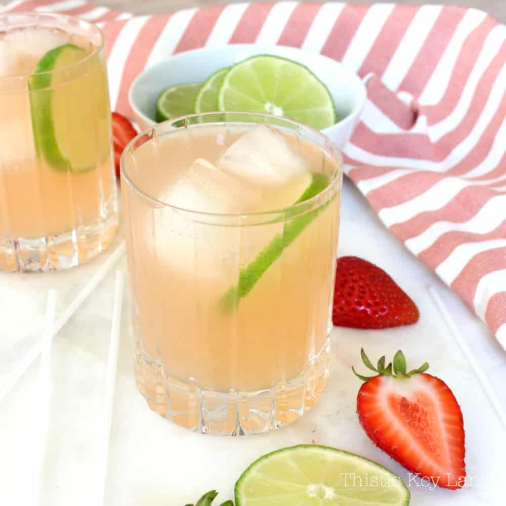 Strawberry Lemonade Margarita Recipe
