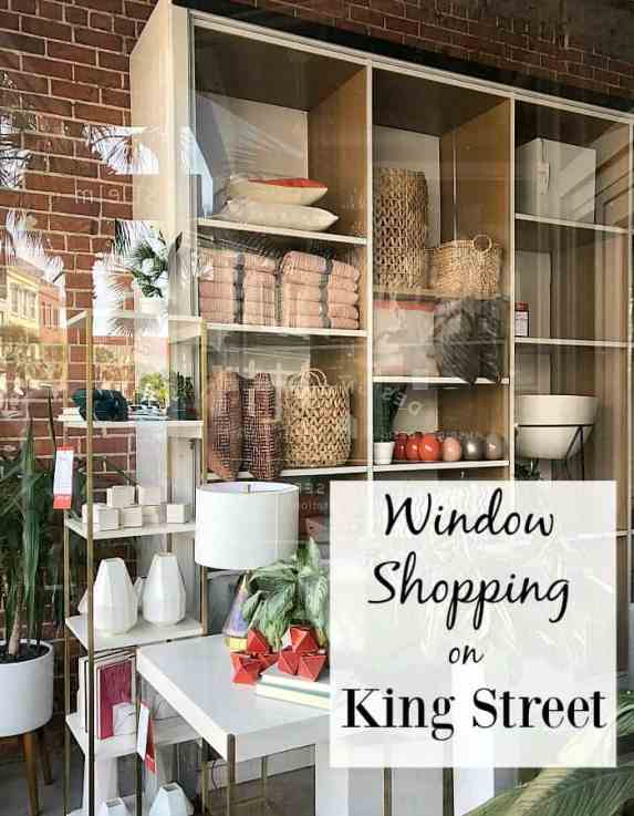 Window shopping on King Street never disappoints.