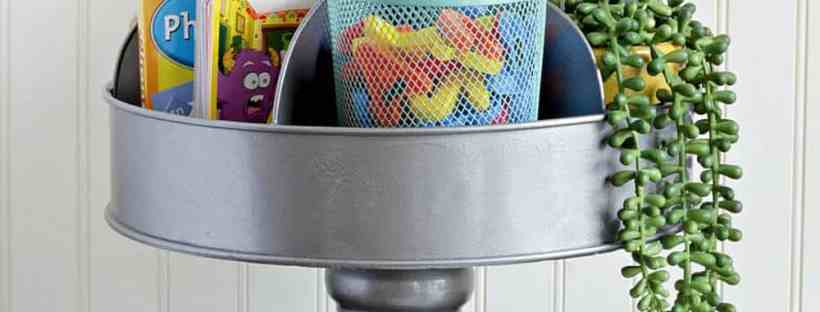 DIY Craft Caddy from Squirrels Of A Feather.