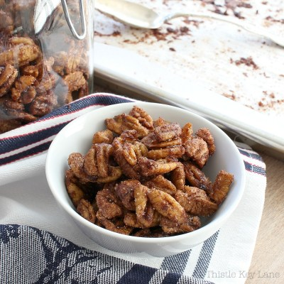 Bourbon Candied Pecans Recipe