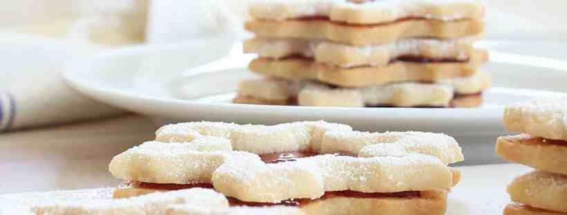 Linzer Cookie Recipe for the perfect holiday treat!