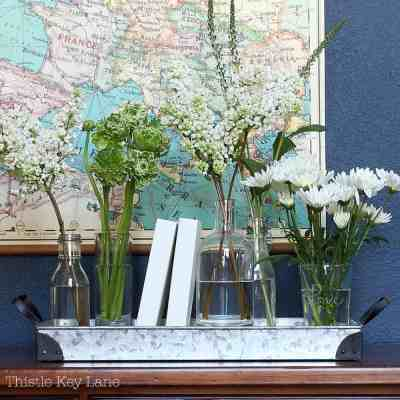 Updating The Entry Table With Flowers