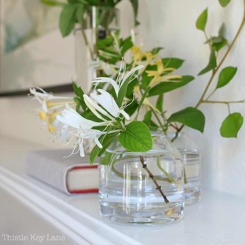 Styling A Spring To Summer Mantel