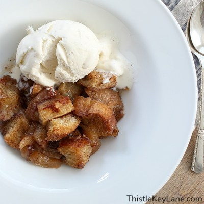 Apple Pecan Bread Pudding Recipe