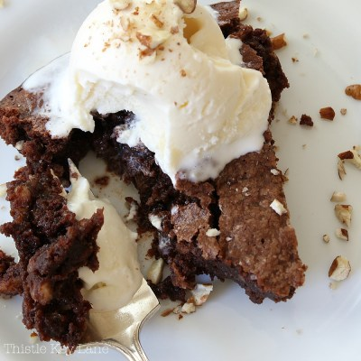 Best No Crust Fudge Pie Recipe